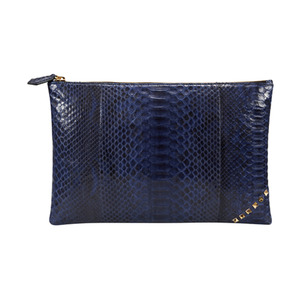 [불르아]ZIP CLUTCH_NAVY