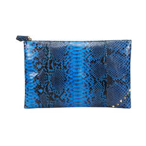 [불르아]ZIP CLUTCH_BLUE