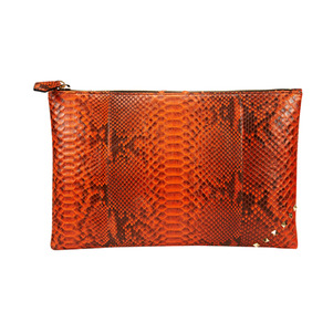 [불르아]ZIP CLUTCH_ORANGE