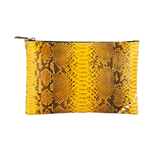 [불르아]ZIP CLUTCH_YELLOW